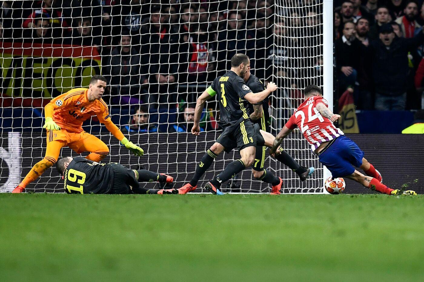 Champions, Atletico Madrid vs Juventus