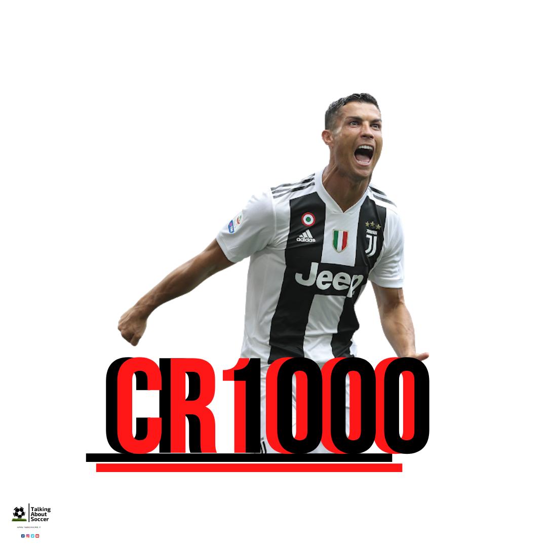 Cristiano Ronaldo 1000 presenze