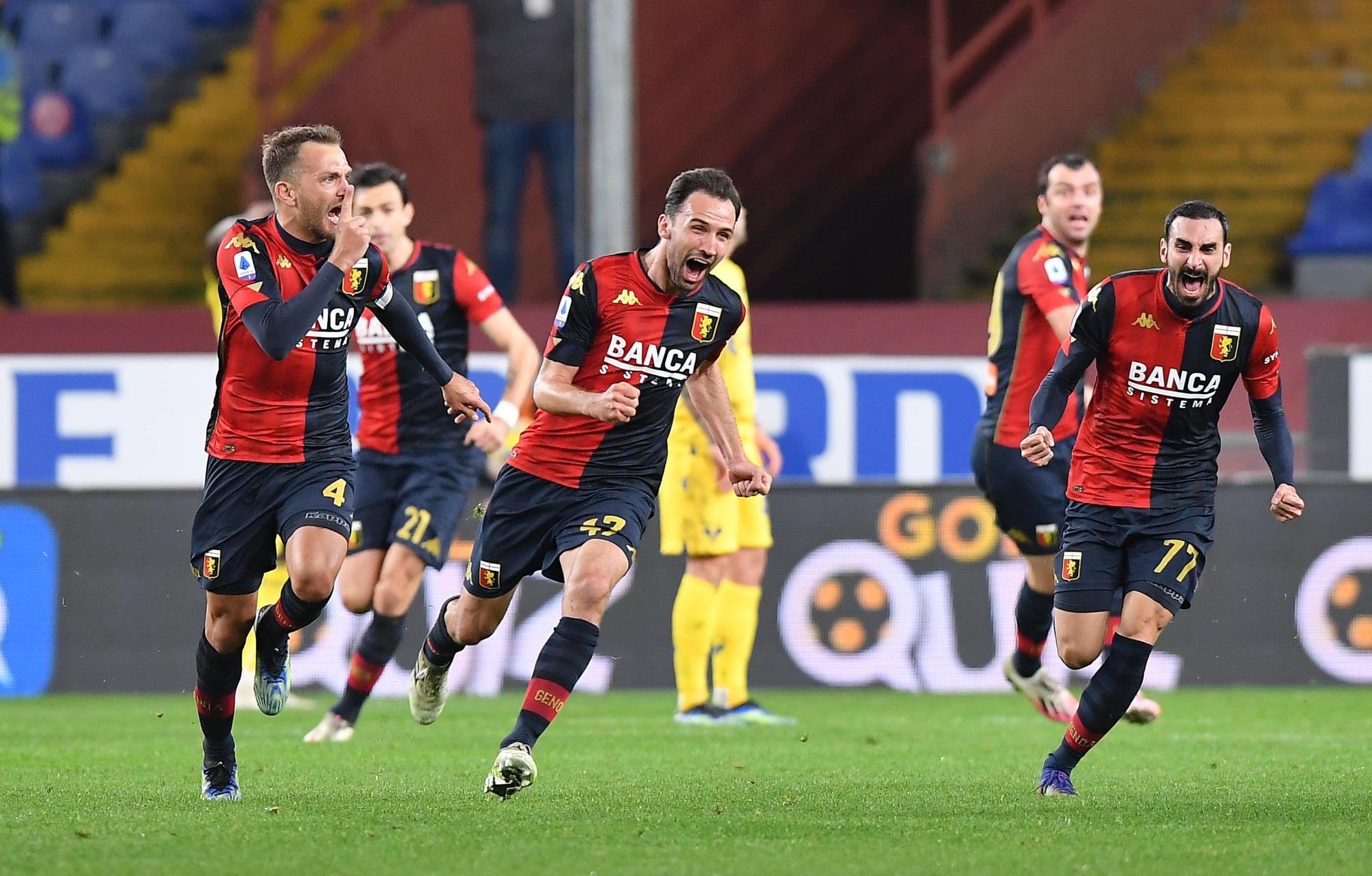 Genoa-Verona 2-2